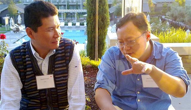 Dealmakers David Chao, Joe Chen