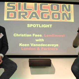 Silicon Dragon London 2016: Spotlight Talk – Christian Faes, LendInvest