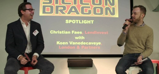 Silicon Dragon London 2016: Spotlight Talk – Christian Faes, LendInvest