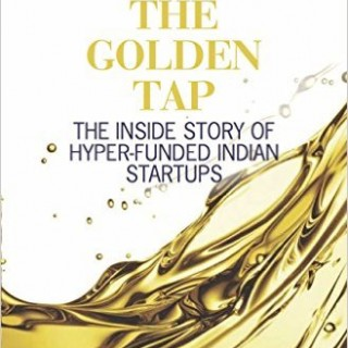 book cover, The Golden Tap, India