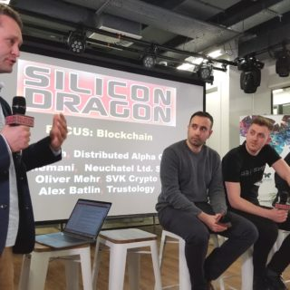 Blockchain panelists