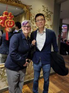 Sonja Thompson, Jonathan Qiu