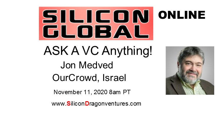 Ask A VC! OurCrowd's Jon Medved @ online