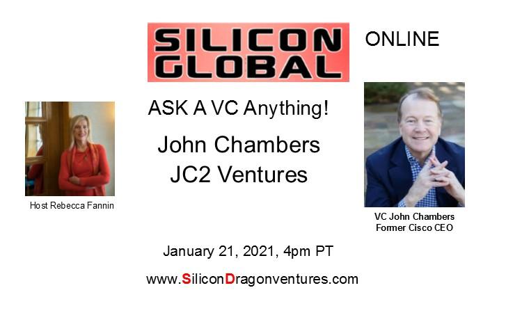 Ask VC John Chambers! @ Online