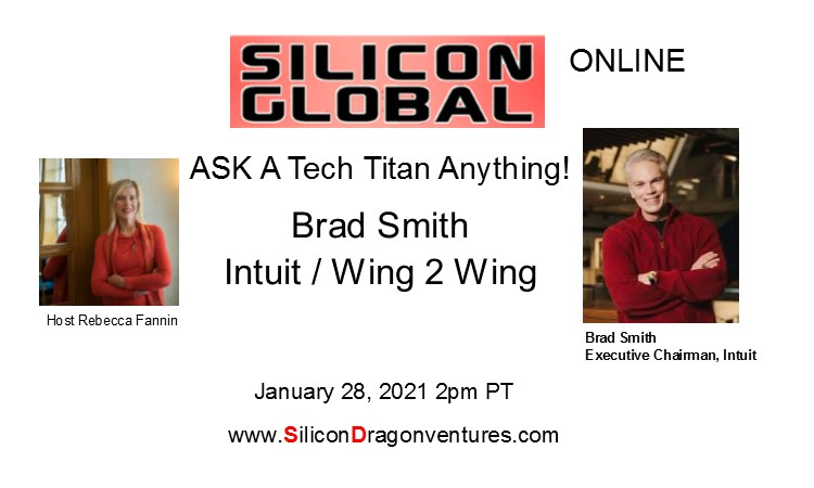 Ask Tech Titan Brad Smith! @ Online