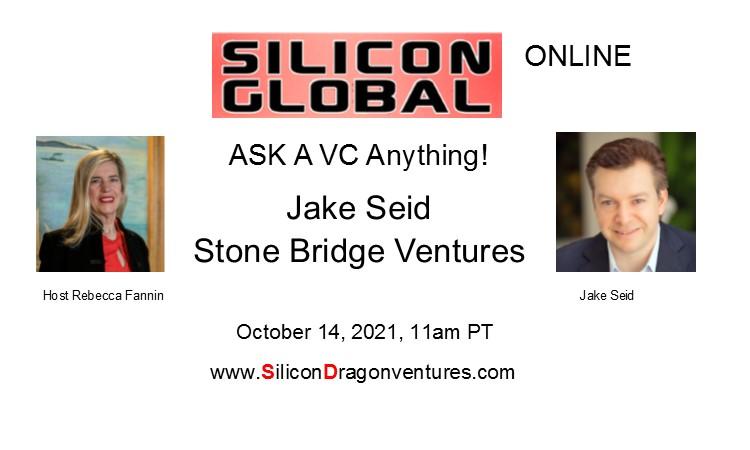 Jake Seid, Oct 14, 11am PT