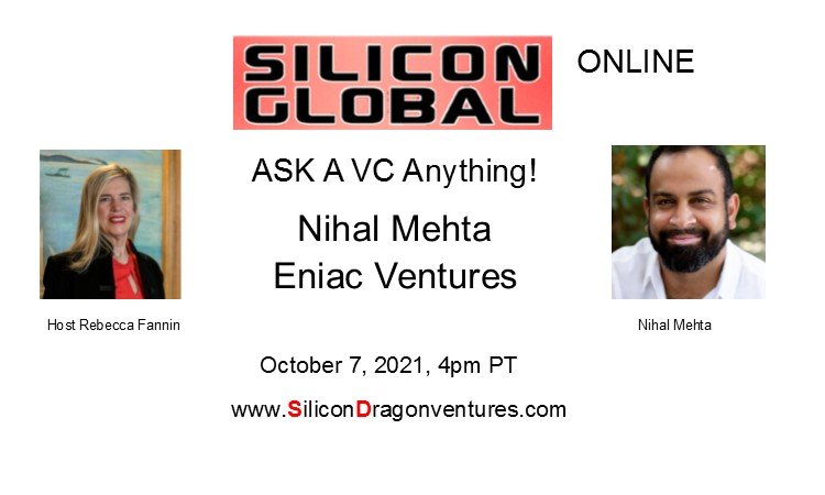 Ask VC Nihal Mehta Anything! @ Online