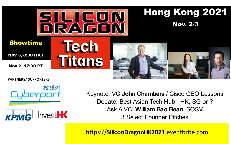 Silicon Dragon Online HK 2021 @ Online