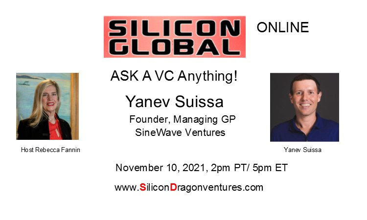 Ask VC Yanev Suissa Anything! @ Online